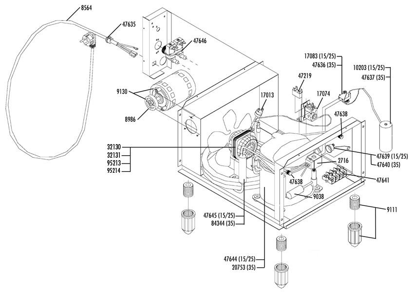 exploded views for horeca  refrigeration  u0026 hvac equipment