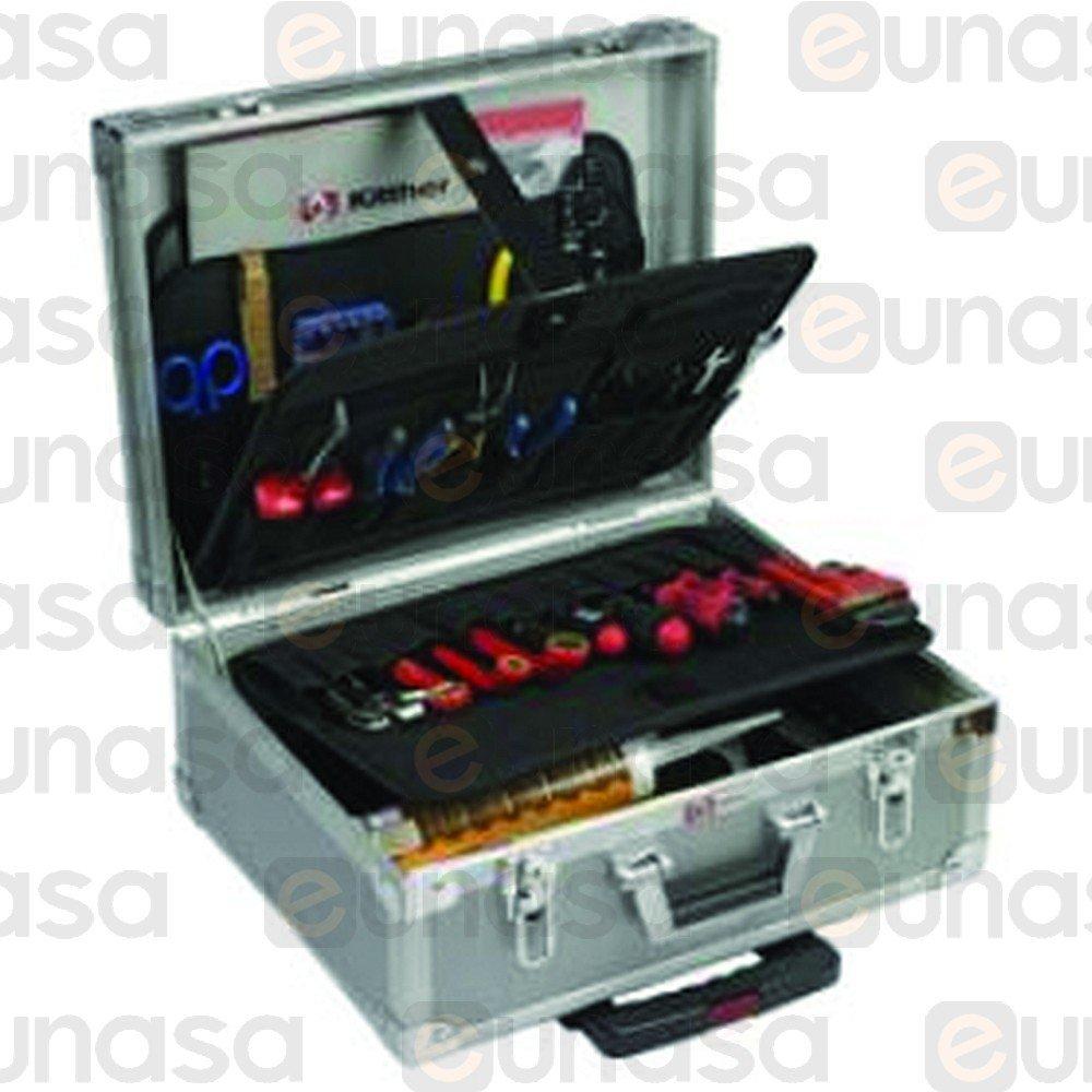 21208 maleta para herramientas aluminio con trolle - Maleta para herramientas ...