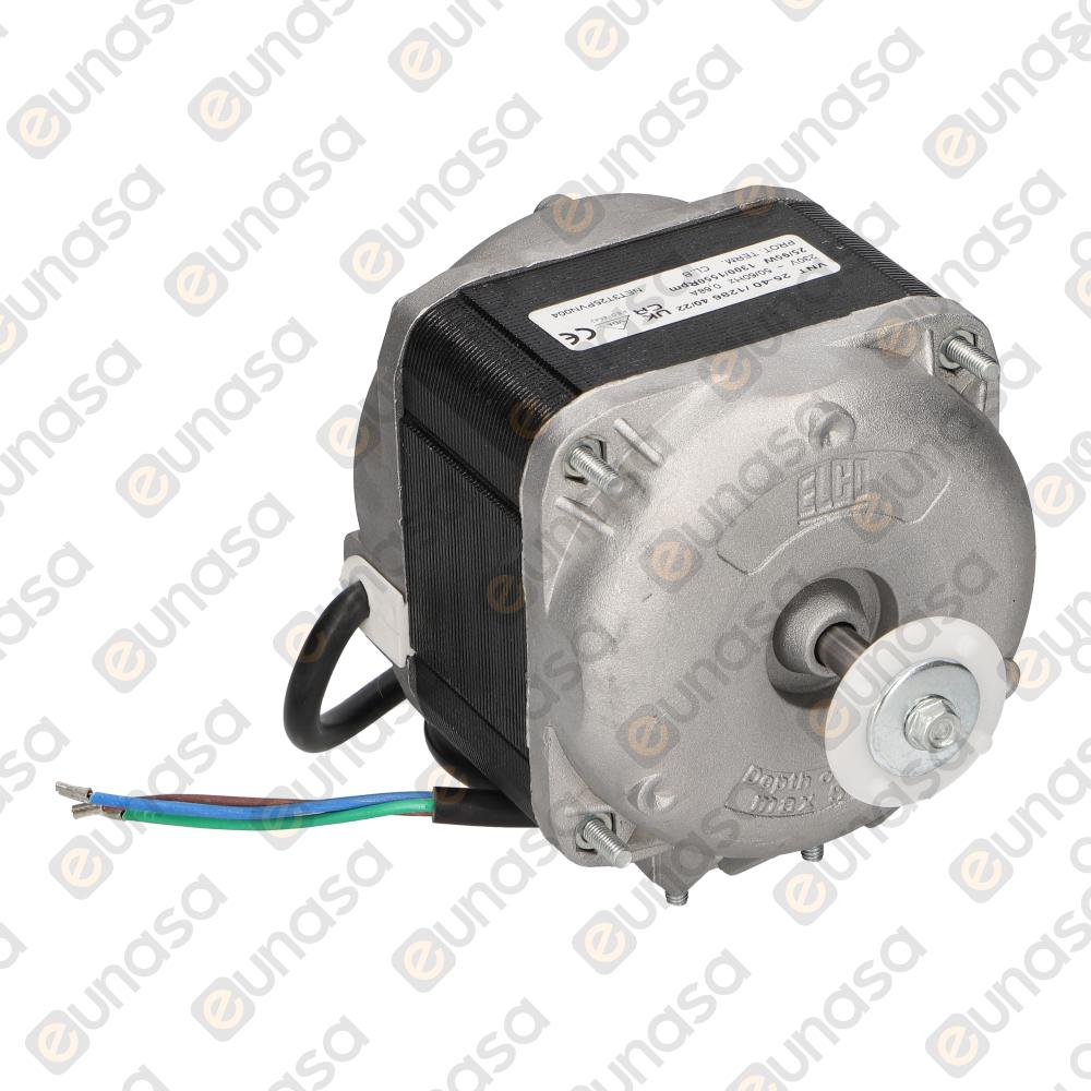 34291 Fan Motor 230V 50/60Hz 25W 1300rpm - Motor