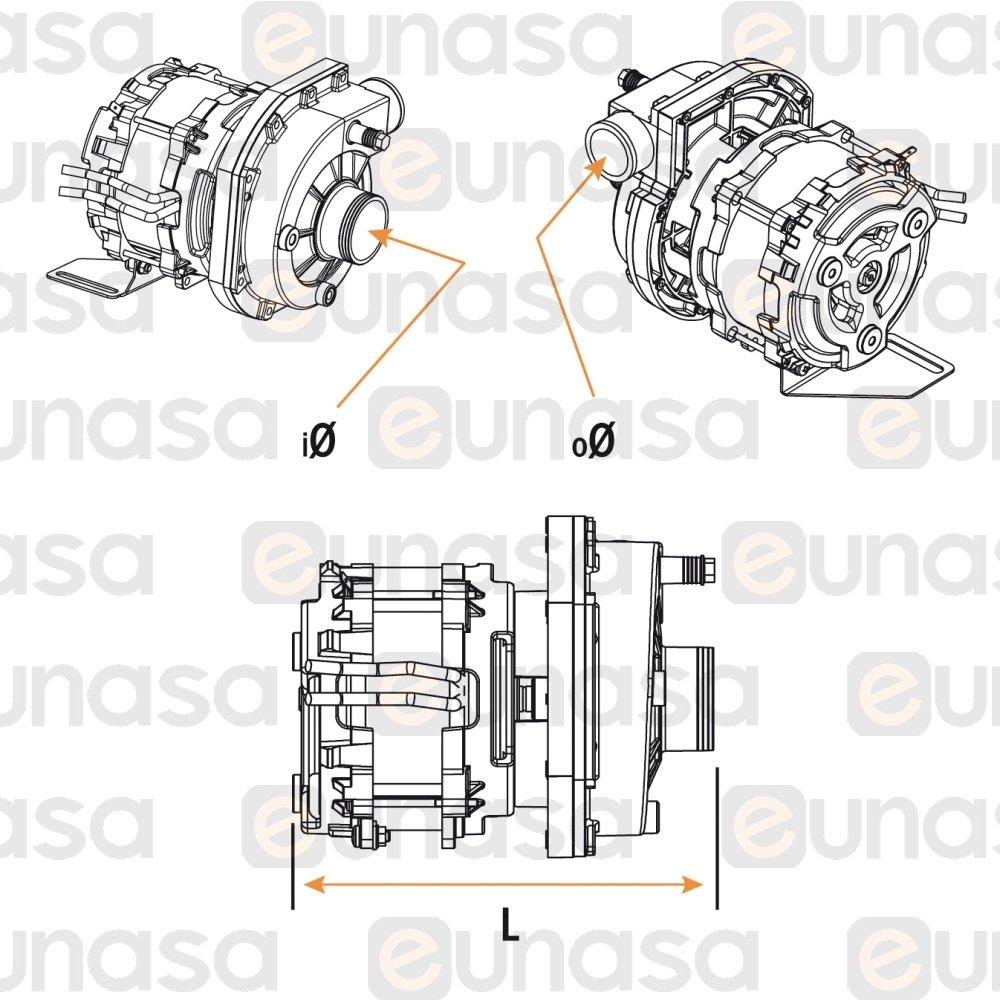 51165 Wash Pump 230v 0 6hp Lf 322 Comenda Pump