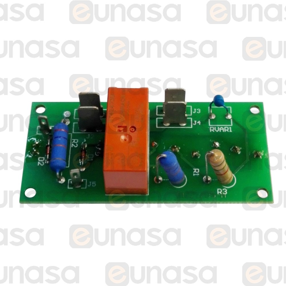 77573 Printed Circuit Board 75x35mm Relay W Switch