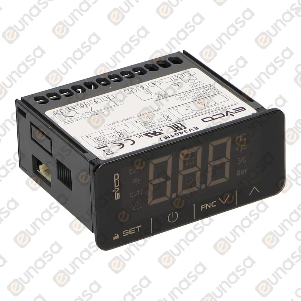 90230 2 Relay Thermostat Digital Evk411m7vhbs