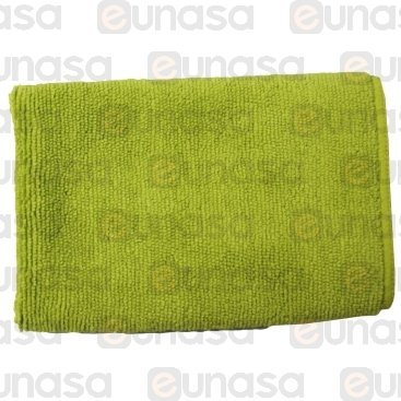 Green Microfibre Cleaning Cloth 300x300mm