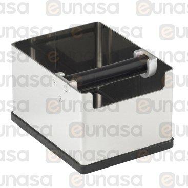 St Steel Knock Box 140x185x120mm